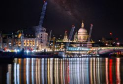 Reflections in the Thames